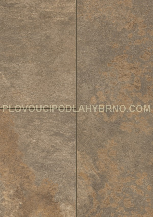 Plovoucí laminátové podlahy Egger Kingsize F256_Diamantová břidlice hnědá