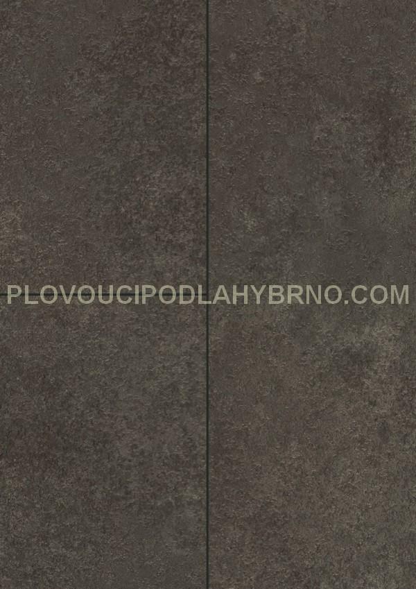 Plovoucí laminátové podlahy Egger Kingsize F809_Cremento černá