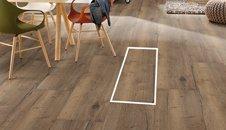 Plovoucí laminátové podlahy Egger Kingsize
